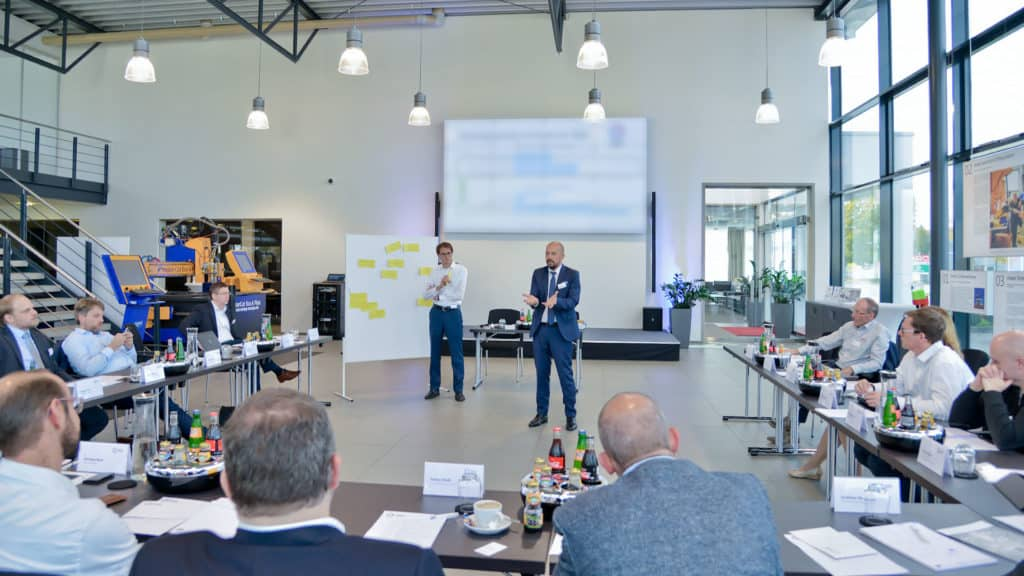 Workshop meeting of the Industry Business Network 4.0